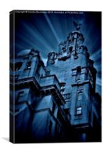 The Iconic Liver Building, Canvas Print