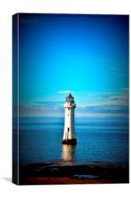 Perch Rock Lighthouse 2, Canvas Print
