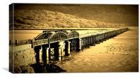 Barmouth Bridge, Canvas Print