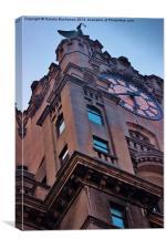 Liverpool Royal Liver Building, Canvas Print