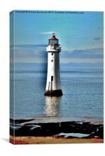 Perch Rock Lighthouse, Canvas Print