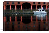 Albert Dock Liverpol, Canvas Print