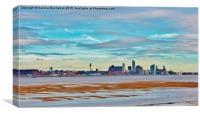 Liverpool Skyline, Canvas Print