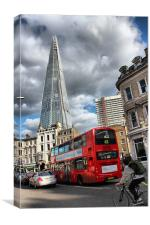 Modes of London Transport, Canvas Print