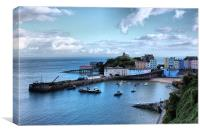 Beautiful Tenby, Canvas Print