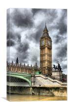 BIG BEN LONDON, Canvas Print