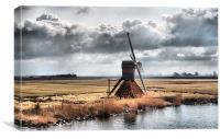 Little Windmill, Canvas Print