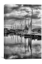 Maritime Reflections, Canvas Print