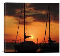 Sun Set Sail, Canvas Print