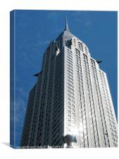 Glistening Chrysler Building, Canvas Print