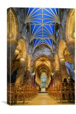 St Giles cathedral, Canvas Print