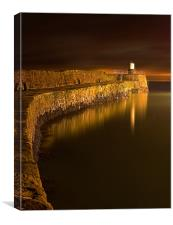 Pittenweem Pier, Canvas Print