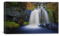Campsie Fairy Falls, Canvas Print
