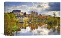 Montreuil-Bellay, Canvas Print