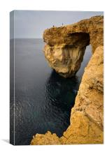 Azure Window, Canvas Print