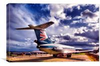 Trident Jet, Canvas Print