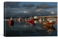 Spanish Fishing Boats, Canvas Print
