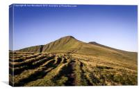 Pen Y Fan & Corn Du Brecon Beacons, Canvas Print