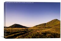 Cribyn And Pen Y Fan  Brecon Beacons, Canvas Print