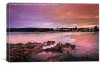 Saundersfoot Bay, Canvas Print