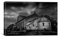 St. Marys Church Hay On Wye, Canvas Print