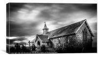 The Old Church Llandrindod Wells, Canvas Print