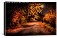 Autumn Nights, Canvas Print