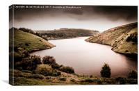 Elan Valley, Canvas Print