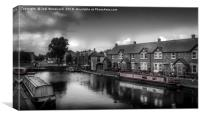 Brecon & Monmouth canal, Canvas Print