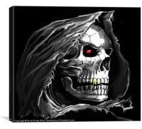 Grim Reaper, Canvas Print