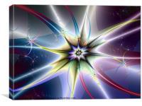 Star Burst, Canvas Print