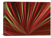 Red Sea-grass, Canvas Print
