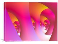 Pink Labyrinth, Canvas Print