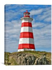 Brier Island (West) Lighthouse, Canvas Print