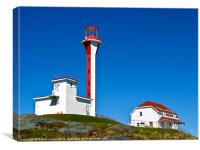 Cape Forchu Lightstation, Canvas Print