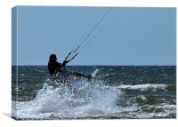 Kite Surfer, Canvas Print