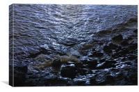 night sea, Canvas Print