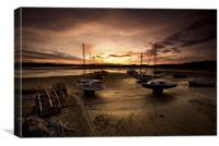Beadnall Harbour, Canvas Print