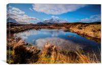 The Cullins, Isle of Skye, Canvas Print