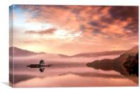 Glenridding Sunrise, Canvas Print