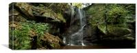 Routin Lynn, Northumberland Panoramic, Canvas Print