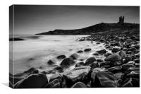 Dunstanburgh Castle, Northumberland, Canvas Print