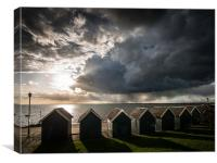 Watching the Approaching Storm, Canvas Print