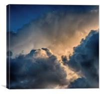 Mind in the Clouds, Canvas Print