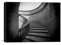 Mono Steps, Canvas Print