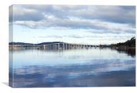 Tasman Bridge from Cornelian Bay, Canvas Print