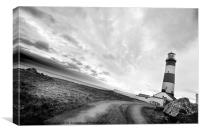 St Johns Point Lighthouse, Canvas Print