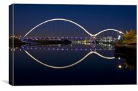 Infinity Bridge, Canvas Print