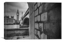 Big Ben & Brick, Canvas Print