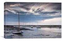 Norfolk Skies, Canvas Print